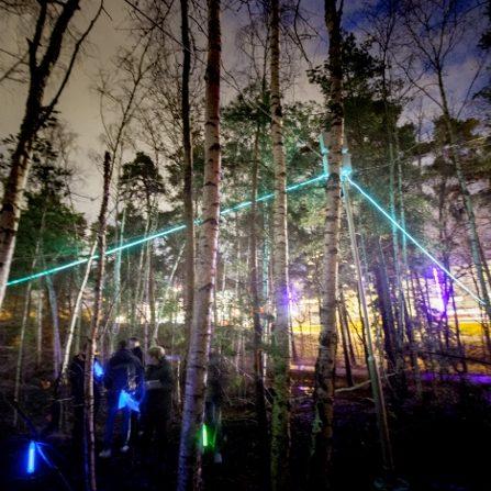 Ljudstrådarna på Nya Gatan Nacka